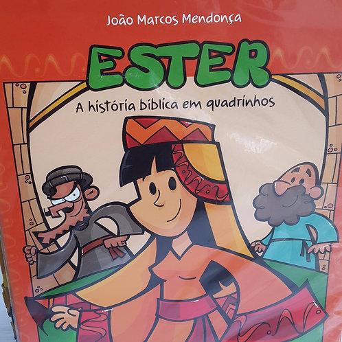 Livro infantil da historia da Rainha Ester