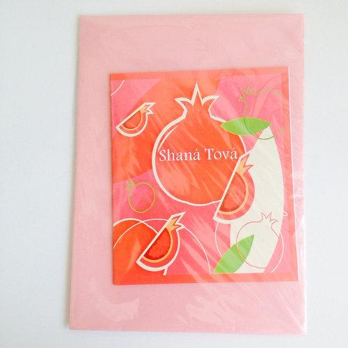 Cartão Shanah Tovah