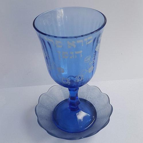 Cálice de vinho  de vidro