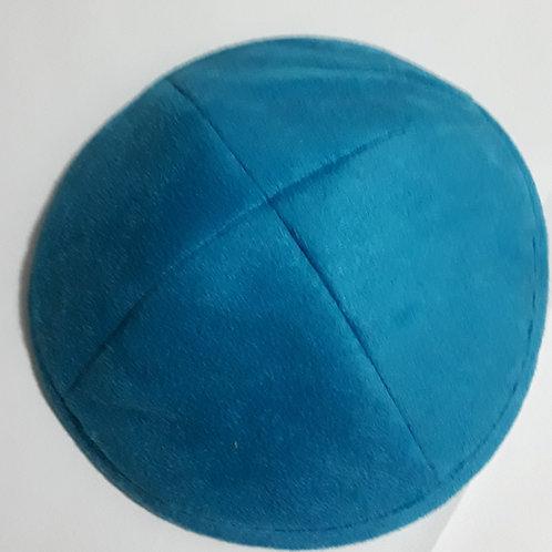 Kipa de Camurça azul.