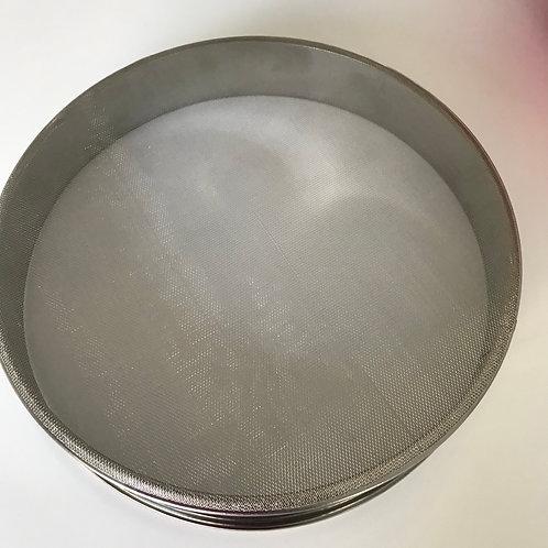 Peneira de metal para farinha