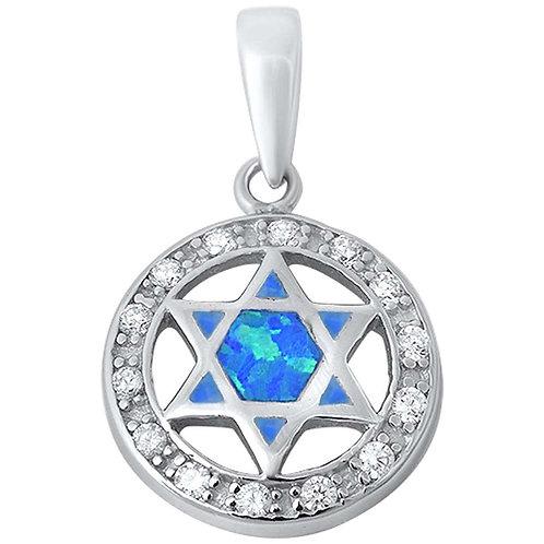 Estrela de David Azul