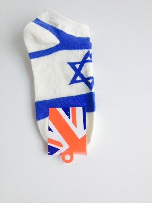 Par de Meia Bandeira Israel