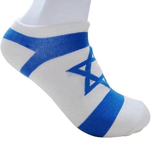 Par de Meias , Bandeira de Israel.