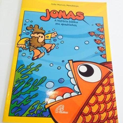 Livro  Jonas, A história bíblica em quadrinhos.