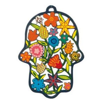 Hamsa floral do artista Emanuel .
