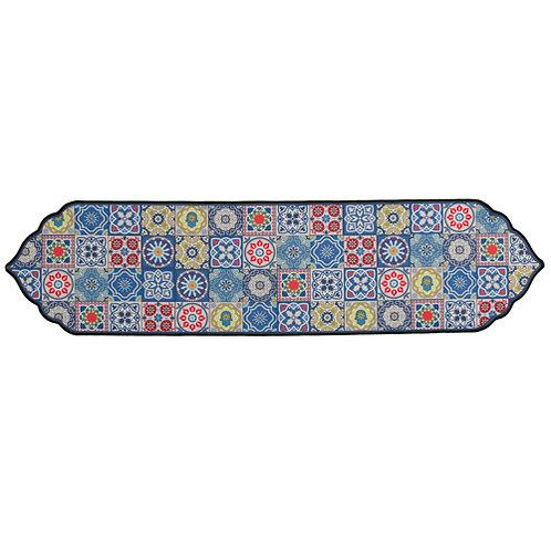 Ranner térmico multicolorido para mesa de shabat.
