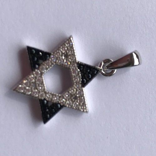Pingente Estrela de David