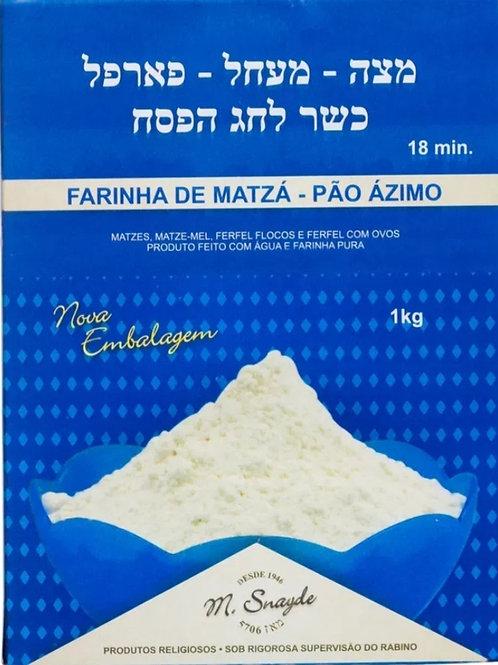 Farinha de Matza- Pão Azimo