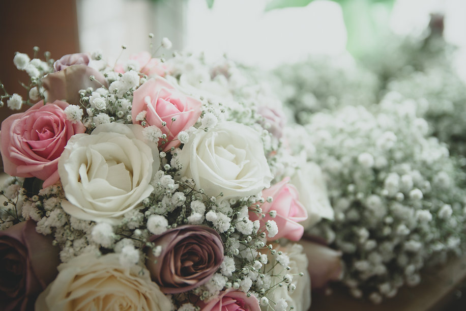 Hampshire wedding bouquet - moonflower films photography