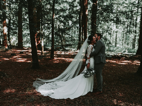 Alex & Jess's Woodland Wedding