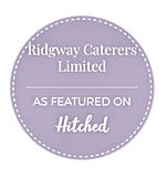 Ridgway Caterers As featured on Hitched.