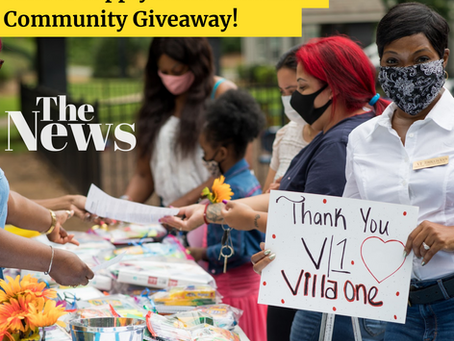Back To School Supply Giveaway Corners a Success!