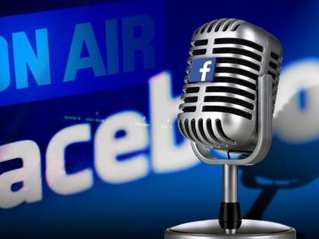 """¿Facebook agregará """"salas de audio"""" a su plataforma?🤔 ¡Aquí los detalles!👂🏼🎙️"""