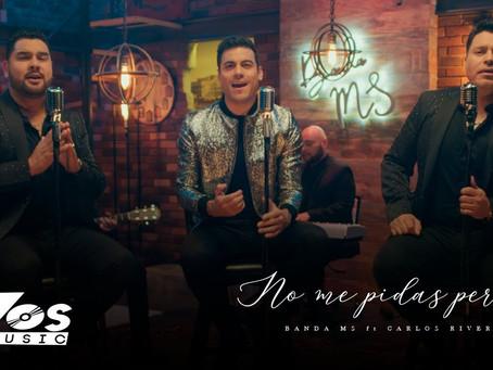 Banda MS y Carlos Rivera presentan su nuevo dueto en el escenario de los Latin AMAs🤠🎶🥁