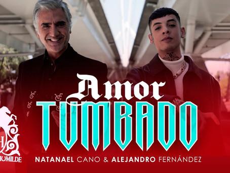 """¡Que si era dueto! Natanael Cano y Alejandro Fernández presentan nueva versión de """"Amor Tumbado""""🤷"""