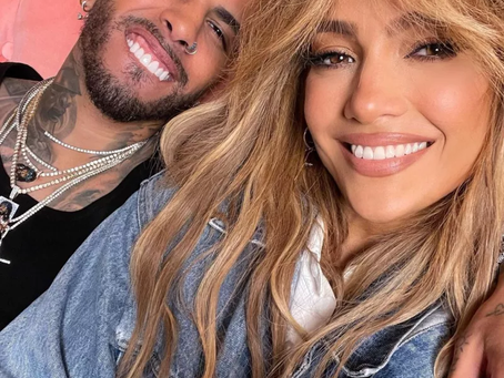 """Jennifer López y Rauw Alejandro estrenan """"Cambia el paso""""🔥🎶"""