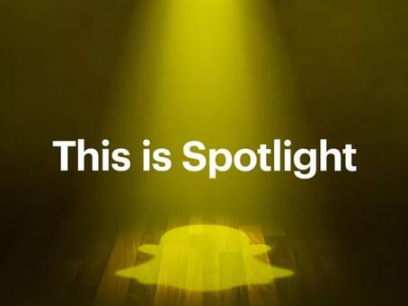 """Snapchat ha lanzado su propia versión de TikTok llamada """"Spotlight""""📱👻😱"""