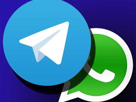 Telegram, la app más descargada después del cambio de políticas de WhatsApp😱