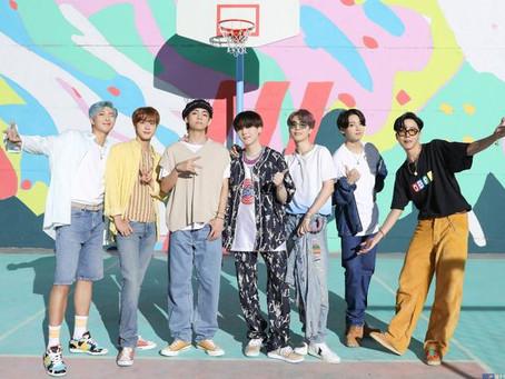 """BTS llega al billón de reproducciones en YouTube con su tema """"Dynamite""""💥🎶"""
