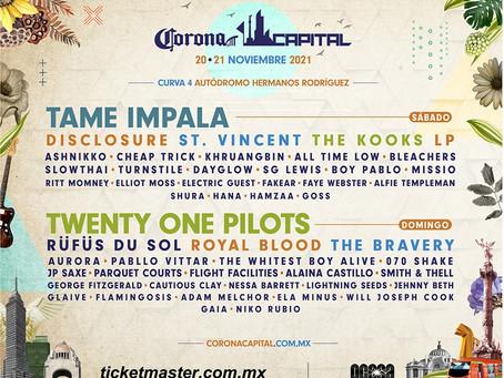 """CONFIRMADO: Sí habrá """"Corona Capital"""" estas son las fechas oficiales 🎶📆🔥"""