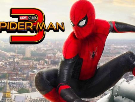 """Se filtran las primeras imágenes de """"Spider-Man 3"""" con el actor Tom Holland 🎬🕷️🕸️"""