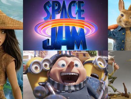 Películas para niños que llegan este 2021 ¡entretenimiento total!🎬👧🏻🧒🏻🍿