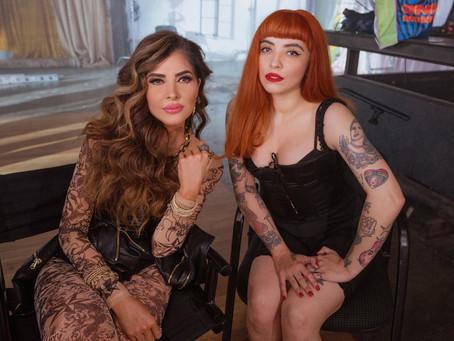 "Mon Laferte y Gloria Trevi presentan ""La mujer""🎶🔥💪🏼"