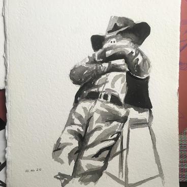 10 Min. Cowboy by Sarah Fagan ($30)