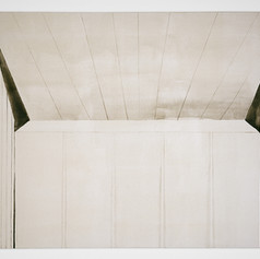 Untitled (Texas Swim Center, Wall and Ceiling II)