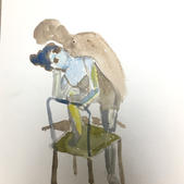 $30, Figure and Chair by Renee Lai