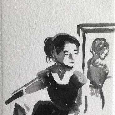 Waiting by Sarah Fagan ($30)