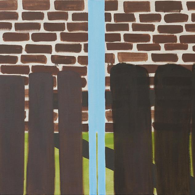 Bricks and Fence