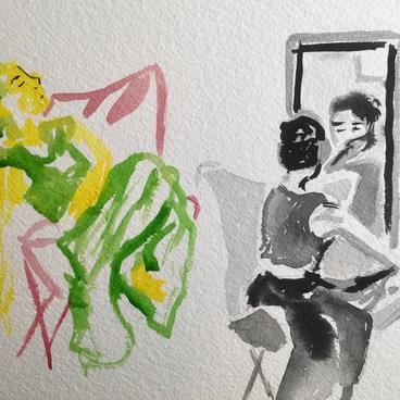Reflecting by Sarah Fagan ($30)
