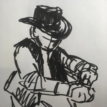 Cowboy Al by Sarah Fagan ($10)