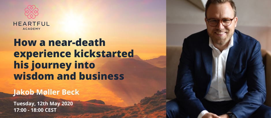 How a near-death experience kickstarted his journey into wisdom & business