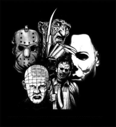 Classic Horror T Shirt