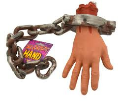 Hand on chain