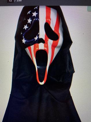 Usa Flag Ghostface