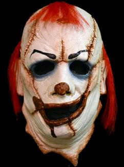 Clown Skinner Half Mask