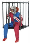 caged clown