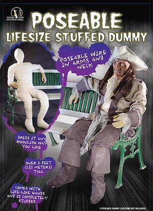 Poseable dummy