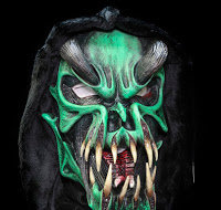 Green and black Predator