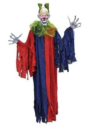 Lifesize hanging clown