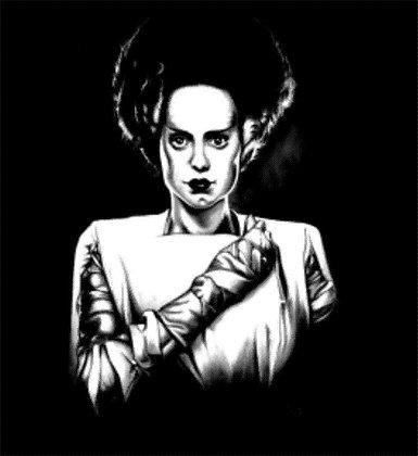 Bride of Frankenstein t shirt