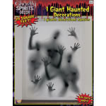 Haunted Window Cling