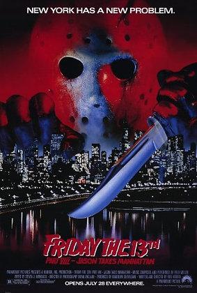 Jason Takes Manhattan Poster