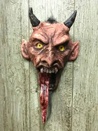 Devil with Moving Tongue