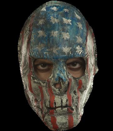creepy patriotic purge mask
