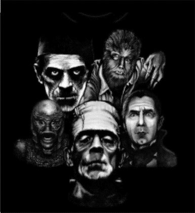 Universal Monsters T Shirt